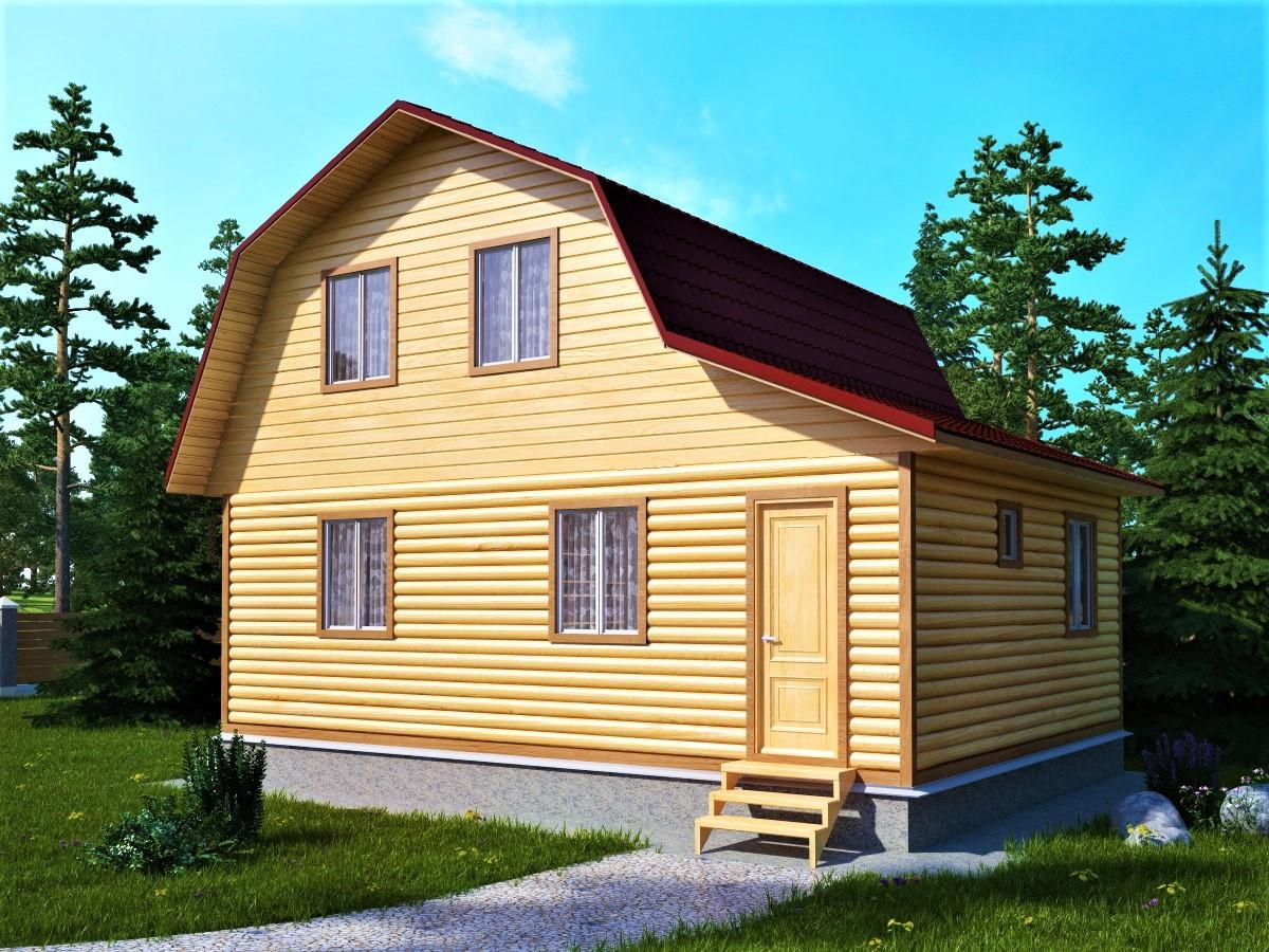 Проект дома под ключ 6 на 8