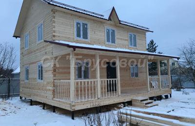 Дом из бруса высогого качества