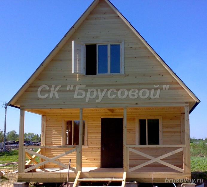 Основные преимущества домов из бруса